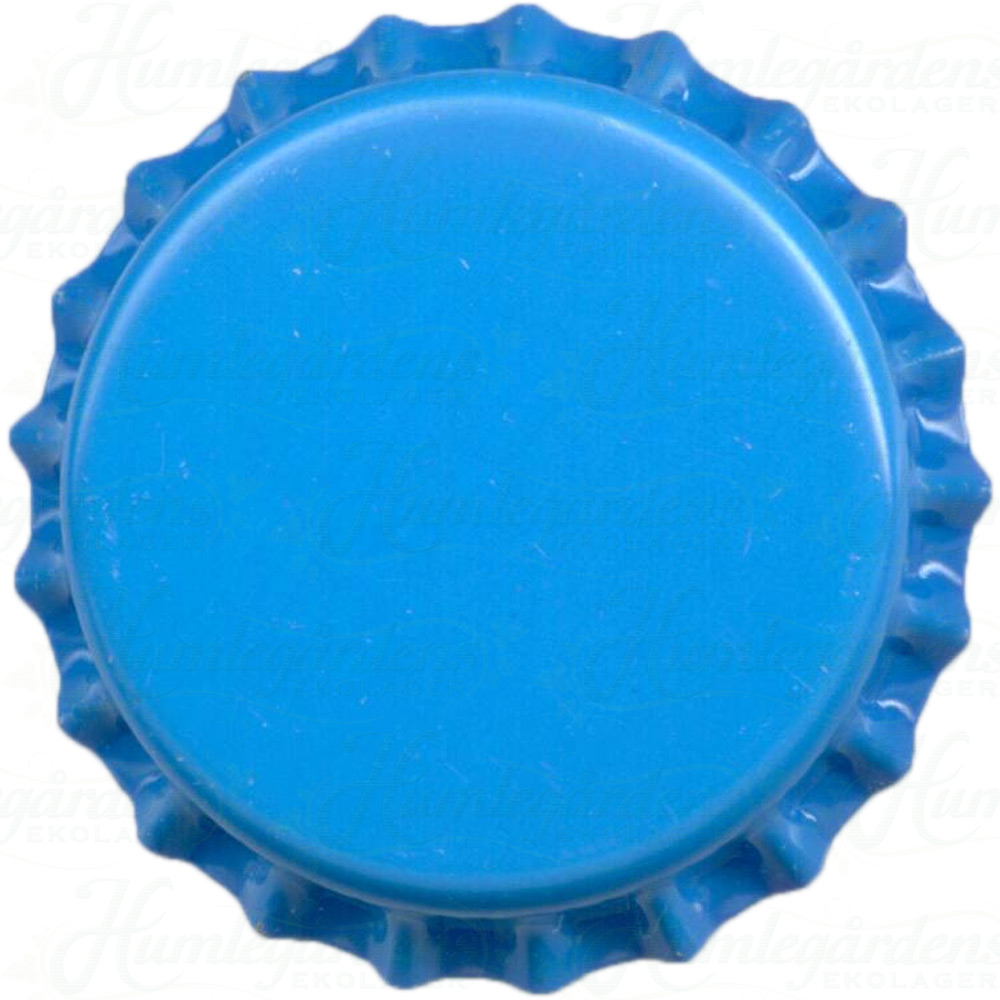 Humleg rdens ekolager blue beer bottle caps 10000 pcs for What to make with beer bottle caps