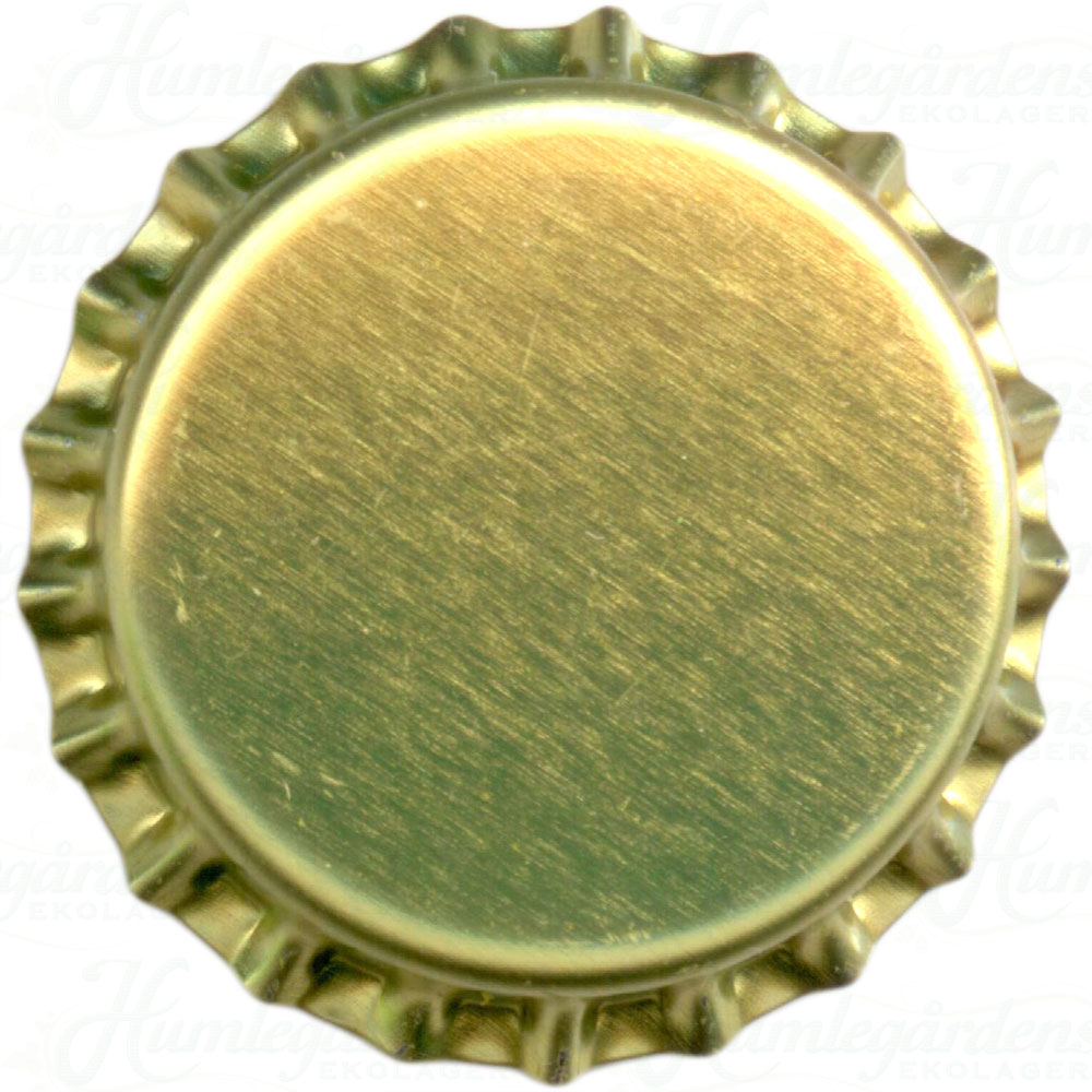 Humleg rdens ekolager gold beer bottle caps 10000 pcs for What to make with beer bottle caps